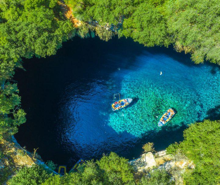 Melisani lake