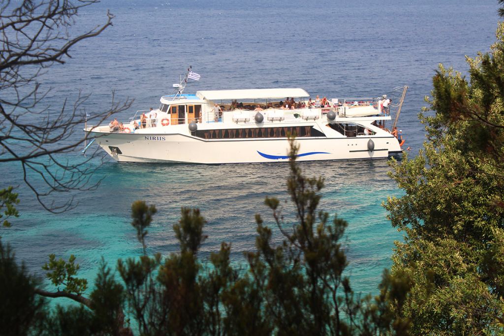 kefalonia cruises Ithaka